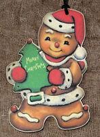 Hang Tags Merry Christmas Gingerbread Man Tags 202 Gift Tags