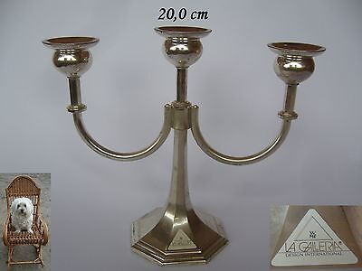 20 Cm Candele In Wmf La Galleria 3 Fiamma Argento Colorati In Metallo 580 G- Ritardare La Senilità