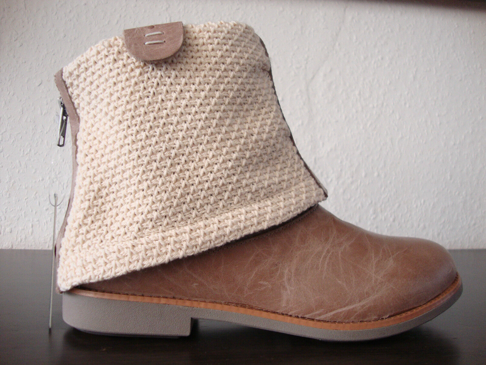 EMU AUSTRALIA WILLANDRA Cukka W11059 Stiefel Beige Damen Cukka WILLANDRA Leder Schuhe Gr.37 NEU 1c67e9