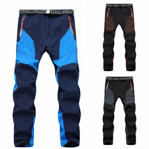Men-039-s-Waterproof-Warm-Snow-Ski-Snowboard-Pants-Outdoor-Hiking-Climbing-Trousers