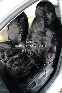 ZAFIRA 2+ TOURER HEAVY DUTY BLACK WATERPROOF SEAT COVERS 1-1