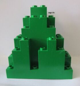 4238 Belville Container Green coffre malle Vert du 5807 MOC Lego x516