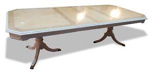 Details Sur Superbe Designer Style Art Deco Maple Burr Ash Table De Salle A Manger Francais Poli Afficher Le Titre D Origine