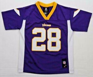 Details about MINNESOTA VIKINGS #28 ADRIAN PETERSON NFL Football Jersey Kids Large (7) Child L