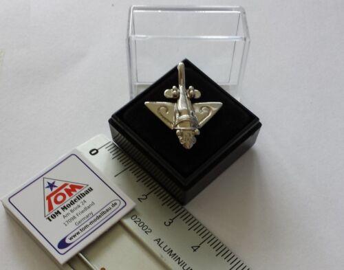 pre Astronautics New Silver Gold Plane Pin//Pin Paleo Seti