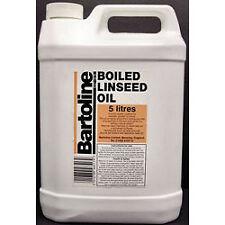 Bartoline bollite olio di semi di lino 5L