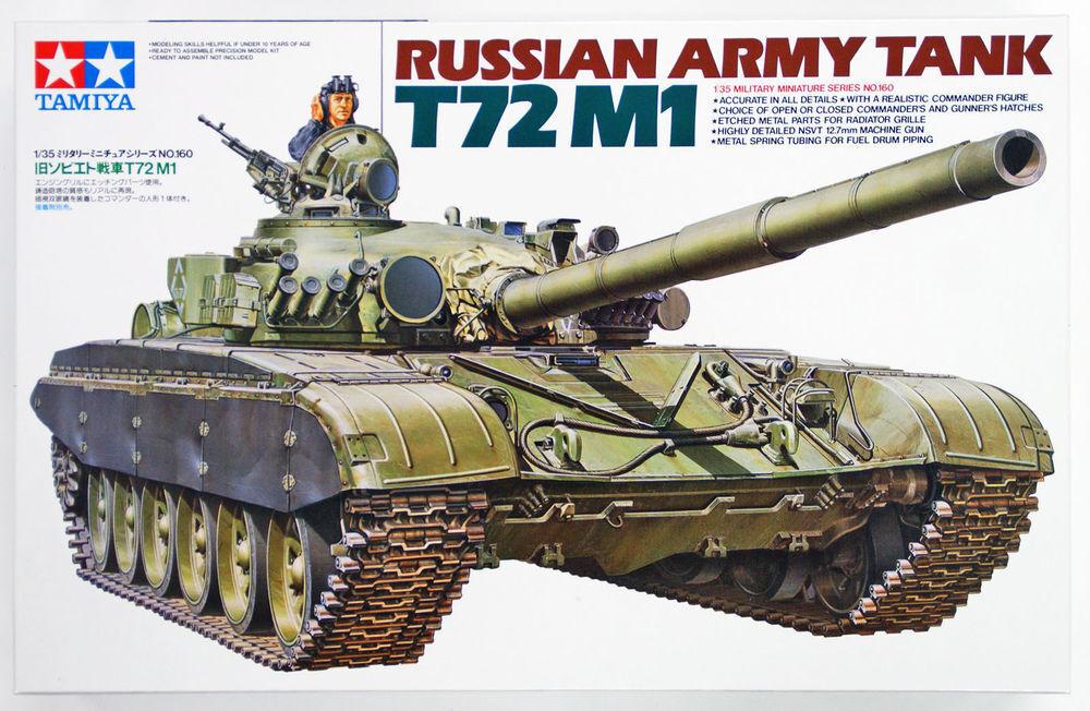 Tamiya 1 35 scale Russian Army Tank T72M1