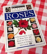Eyewitness Garden Handbook Book On Growing ROSES Gardening How To Grow Roses