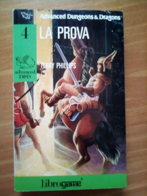 Librogame AD&D La prova (prima ristampa 1989) VG