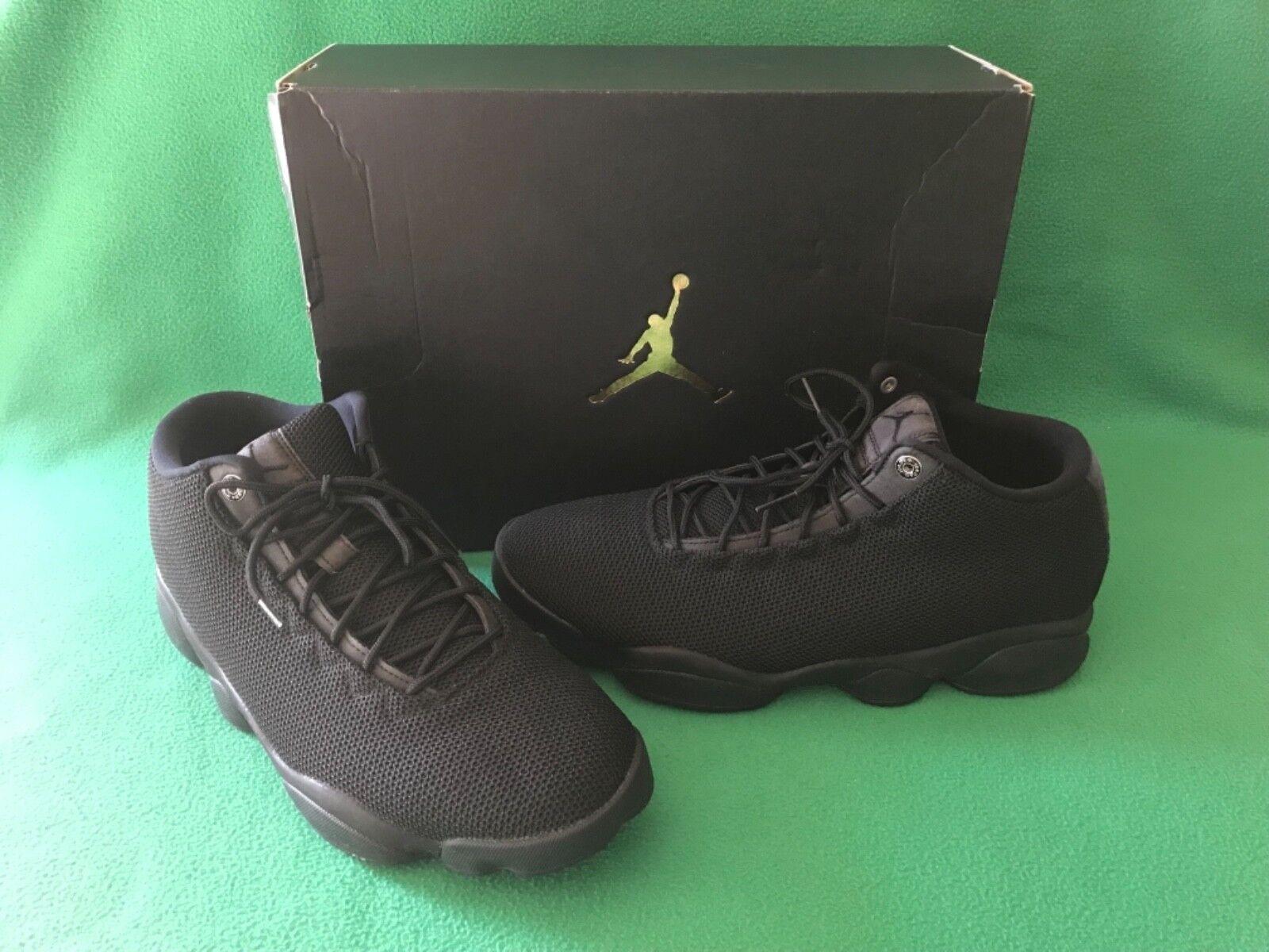 93184c039546 NIKE AIR JORDAN Horizon Low Triple Black Men s Shoes Limited Limited  Limited 845098-010 SIZE