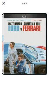Ford Vs Ferrari Dvd 2020 Brand New Free Shipping Ebay