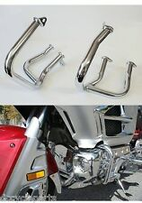 ADD-ON 45-1637 CHROME ENGINE CASE GUARDS CRASH BARS GL1800 GOLDWING 2001-2016