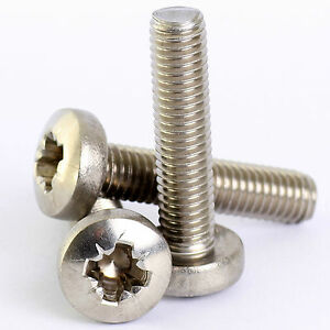 6MM-M6-A2-STAINLESS-STEEL-POSI-PAN-HEAD-POZI-PAN-MACHINE-SCREW-POZIDRIVE-DIN7985