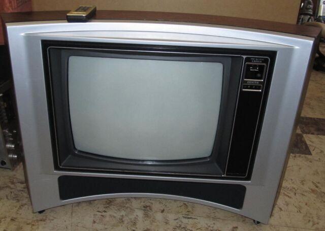 Vtg Zenith 25 Tv Television Sy2541x Retrospace Agemodhippie
