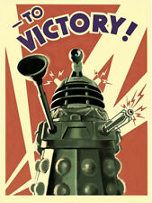 DOCTOR WHO DALEK SCI-FI CANVAS PICTURE PRINT SHRINK WRAPPED