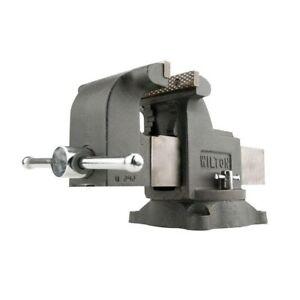 Wilton-WS6-6-Inch-Jaw-3-5-Inch-Throat-Steel-Swivel-Base-Work-Shop-Bench-Vise