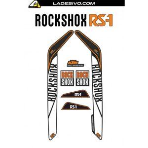 Kit adesivi forcella bicicletta mtb rock shox stickers fork