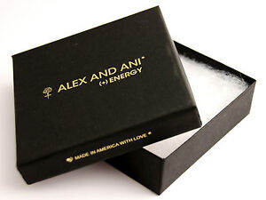 Details About Brand New Alex Ani Energy Jewelry Gift Square Black Box Bracelet Wrap Holder