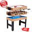 Indoor-Sport-Games-3-In-1-Combo-Game-Table-Billiards-Set-Hockey-Foosball-NEW thumbnail 1