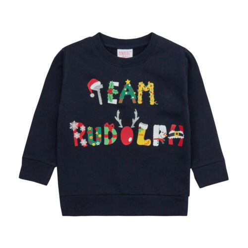 New Boys Girls Christmas Sweatshirt Tops Novelty Festive Gift Xmas Present Cheap