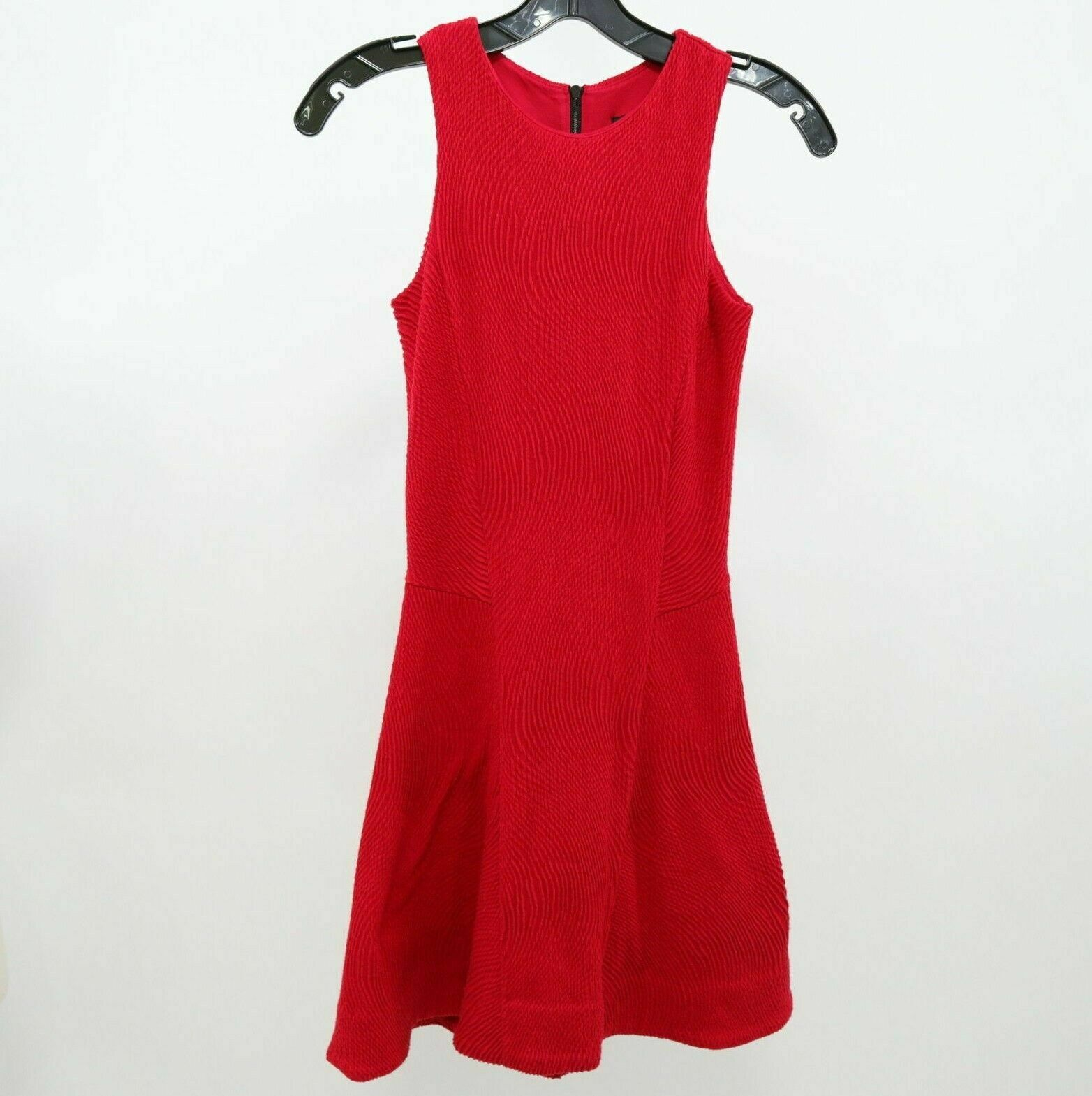 Rag & Bone Dress Fit Flare damen XXS 2XS rot Sleeveless Stretch