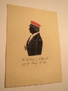 Enthousiaste Marburg - 1847-a. Shilling En Couleur-silhouette Silhouette/studentika-afficher Le Titre D'origine