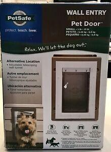 Petsafe-Wall-Entry-Aluminum-Pet-Door-Cat-Dog-New-Small