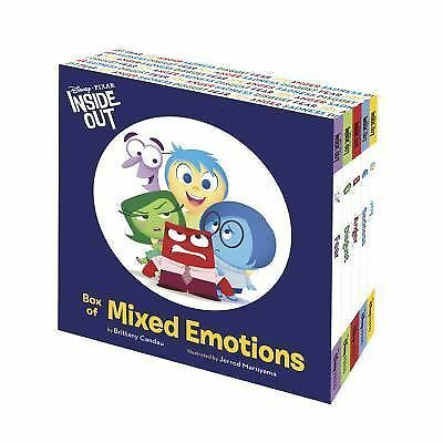 Inside Out Box of Mixed Emotions Disney Pixar Joy,Sadness,Anger,Disgust,Fear NEW
