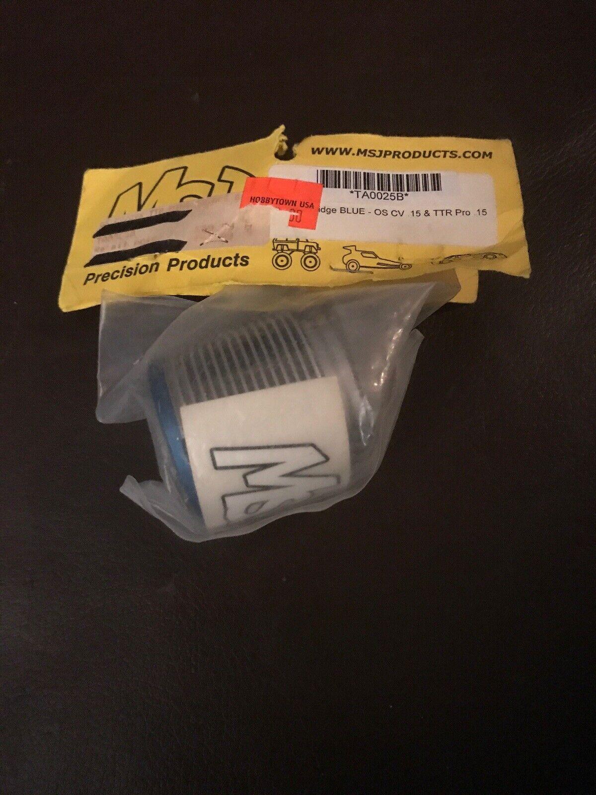 Msj Products Mini Fridge azul OS CV .15 & TTR PRO Vintage Rare New TA0025B Rc