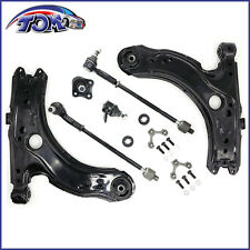 BRAND NEW FRONT LOWER CONTROL ARMS W/BALL JOINT TIE ROD KIT VW BEETLE GOLF JETTA