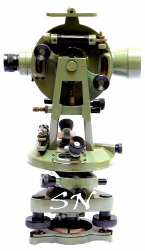 "Messing 15 /""Theodolit-Transit Landvermesser Alidade Vintage Vermessungsinstrumen"