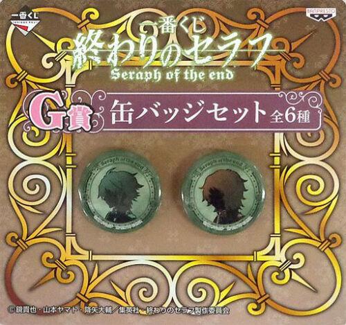 Seraph of the End Ichiban Kuji Two Badge Set Yoichi /& Yu