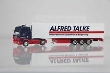 "Herpa Mercedes SK88 Koffersattelzug ""Alfred Talke"" Nr. 142663 / T049       /H817"