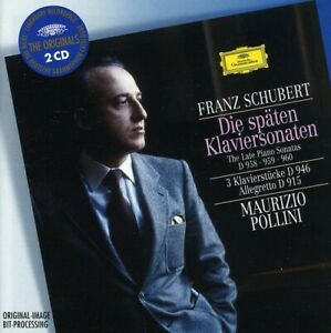 Maurizio Pollini - Late Piano Sonatas: 3 Pieces F [New CD] Holland - Import