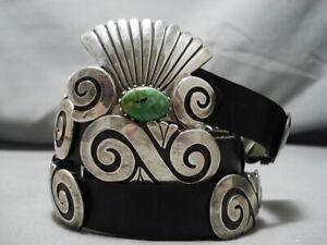 Importante-Vintage-Navajo-Debbie-Herrero-Plata-de-Ley-Concho-Cinturon