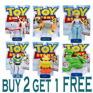 Disney-Pixar-Toy-Story-4-Poseable-Figures-CHOOSE-YOUR-FAVOURITE-DUCKY-SLINKY-REX