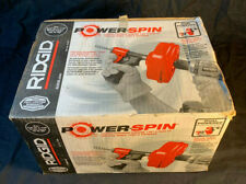 Ridgid 41408 Power Spin With Autofeed Maxcore Drill Operated Drain Cleaner Cable