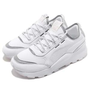 367680 Shoes Sneakers Puma Rs Men Women Running 01 Pop Silver 0 Optic White JcF13TlK