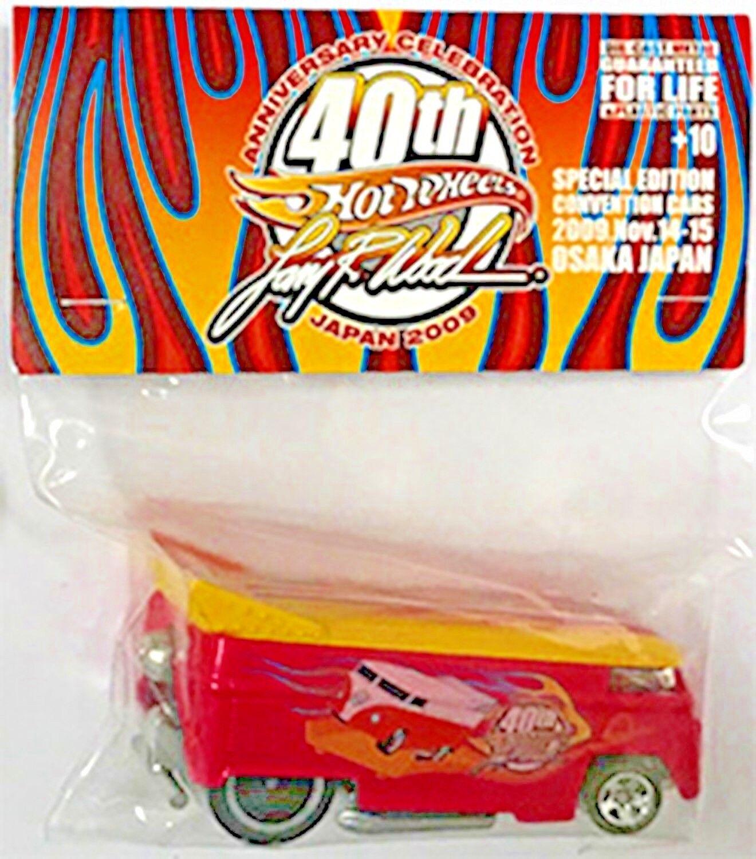 Hot Wheels 2009 Rose VW BUS Larry Wood Dîner édition limitée, Exclusive