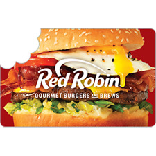 Red Robin Gift Card Value Only