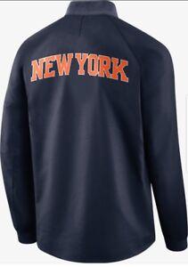 52388d609e2 Nike New York Knicks City Edition Modern Varsity Jacket Retail  180 ...