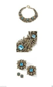 Heidi-Daus-Garland-Of-Pave-Crystal-Necklace-amp-Ears-RET-899-95-SPARKLING-DIVA