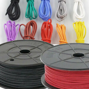 1mm Thin wall 12v AUTOMOTIVE AUTO ELECTRICAL AUTO LOOM CAR VAN CABLE WIRE WIRING