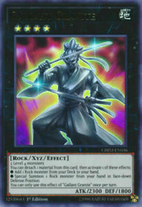 *** GALLANT GRANITE *** ULTRA RARE CHIM-EN036 YUGIOH!