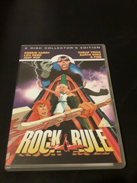 Rock and Rule DVD (2007) Clive A. Smith cert PG 2 discs FREE Shipping, Save £s
