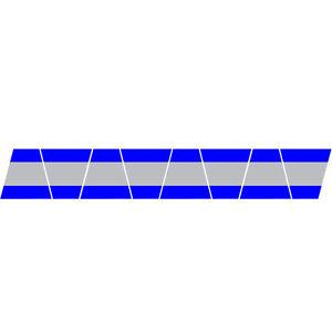 FIREFIGHTER-HELMET-TETS-8-PACK-TETRAHEDRONS-FIRE-HELMET-STICKER-BLUE-STRIPE