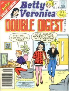 Archie-Digest-Collectible-Betty-amp-Veronica-Comics-Double-Digest-15-Oct-1989