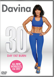 Davina-30-Day-Fat-Burn-DVD-2016-Davina-McCall-cert-E-NEW-Amazing-Value