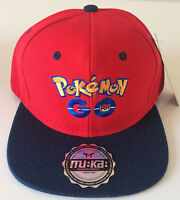 Pokemon Go Cap Hat Unisex Baseball Muka Hat Red /black. Usa Seller