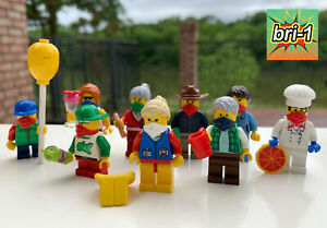 LEGO MOC: Social Distancing Minifigures YOU PICK Chef Mom Boy MORE Lifeguard